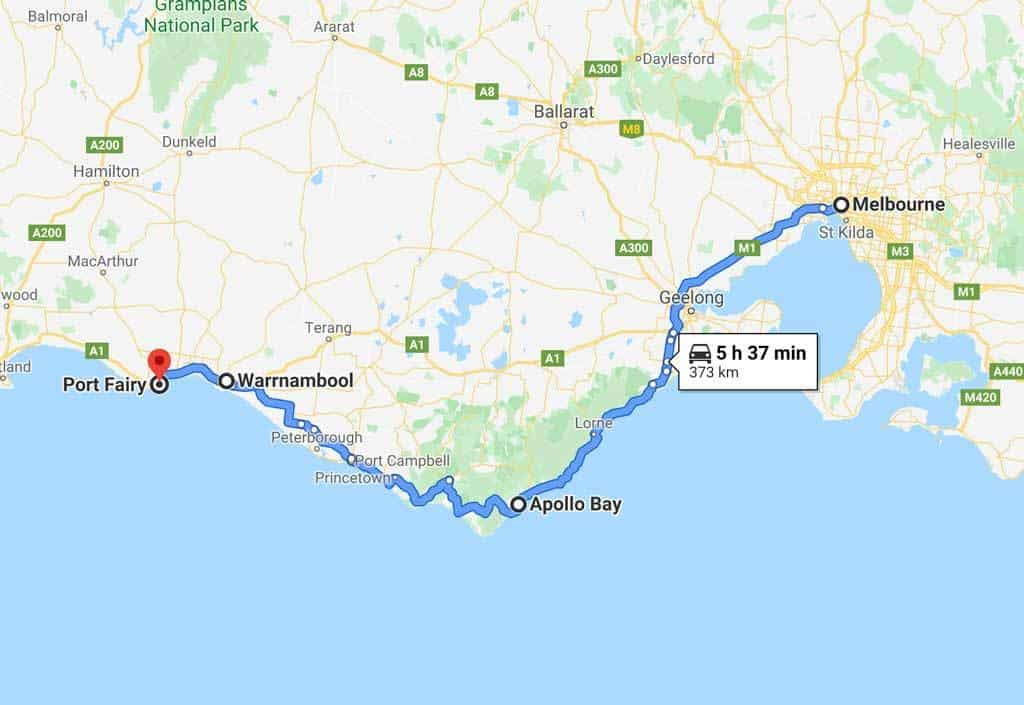 Great Ocean Road Drive Itinerary