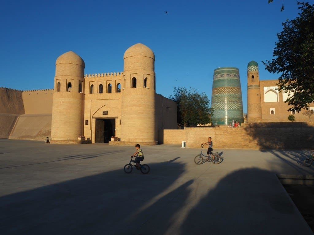 Khiva-sunset