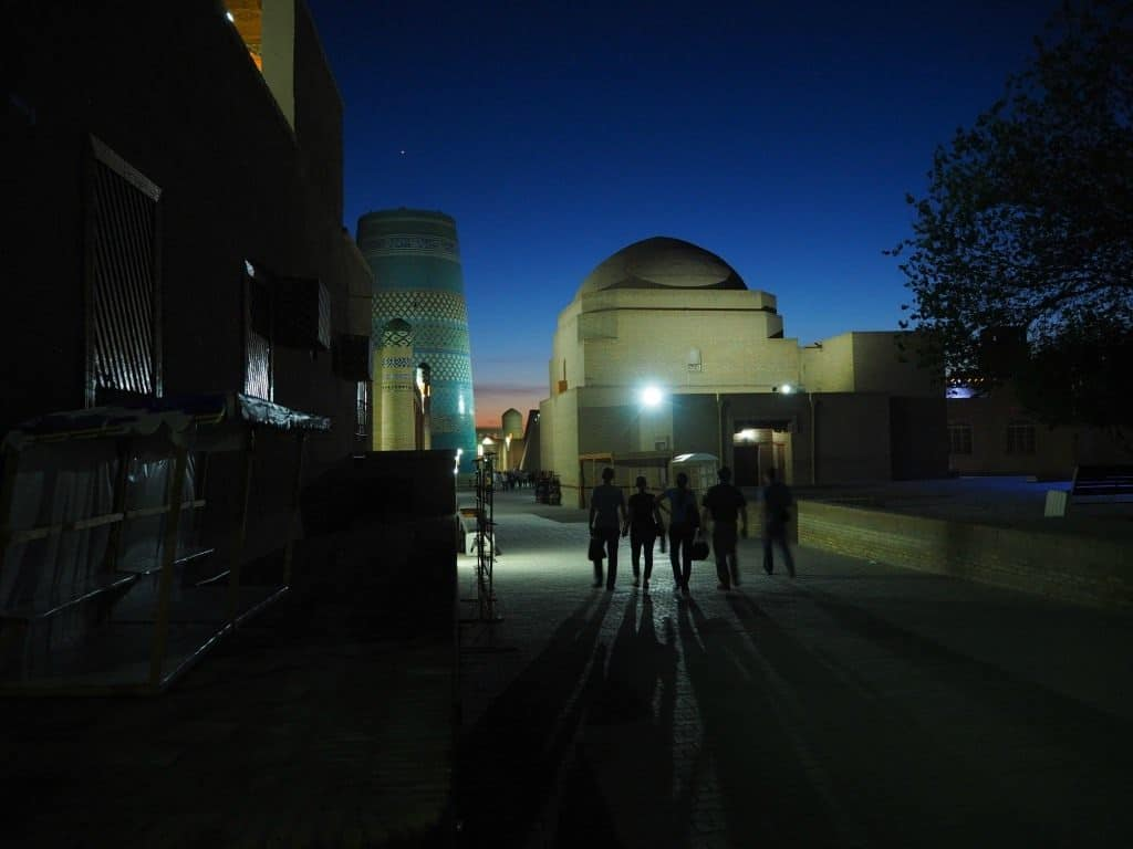 Khiva Is Gorgeous When Lit Up At Night