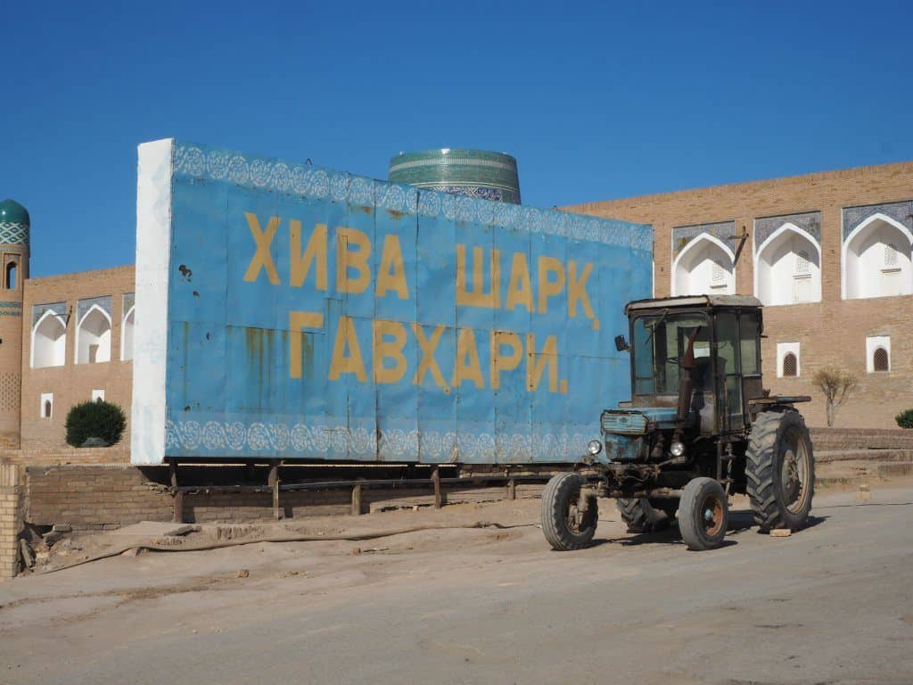 Russian Is Still Widely Used In Uzbekistan