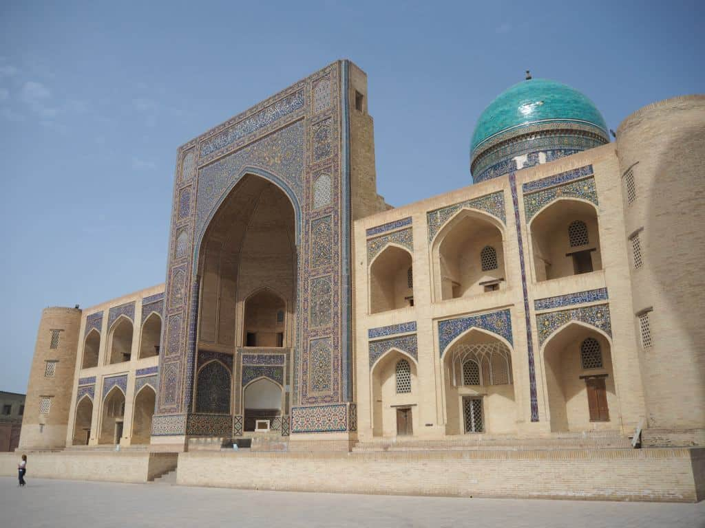 The Spectacular Mir-I-Arab In The Heard To Bukhara