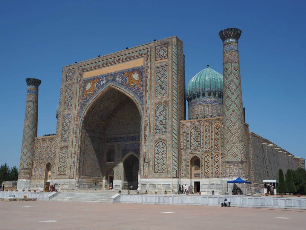 Samarkand Is One Of The Most Spectacular Cities In The Islamic World