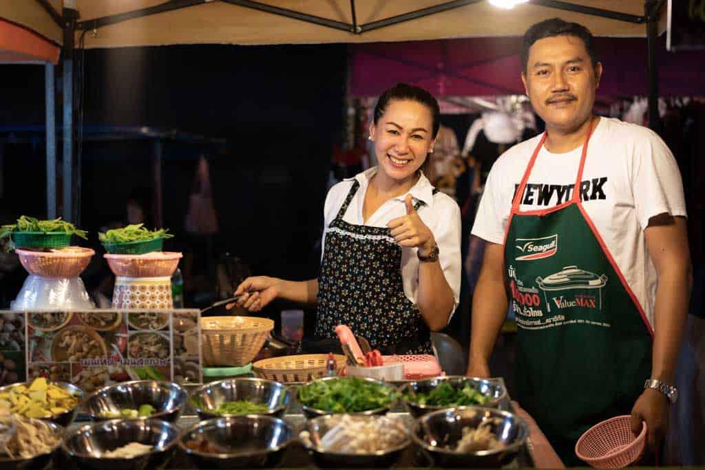 Smiling Thai Locals
