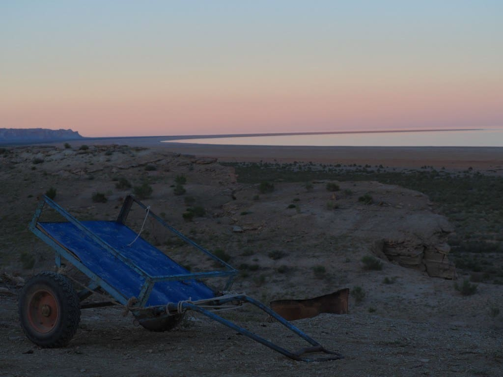 The Sun Sets Over The Aral Sea