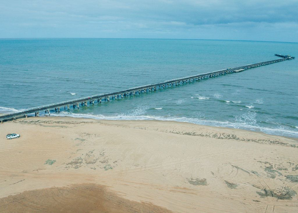 Carnarvon's One Mile Jetty
