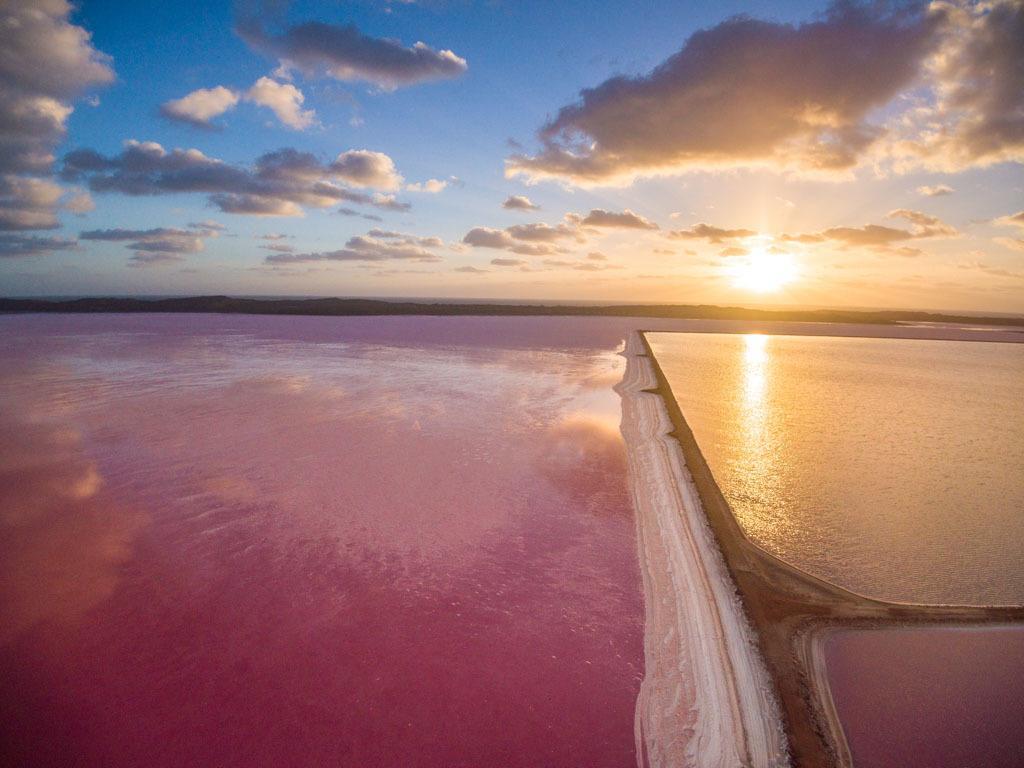 Epic Pink Lake