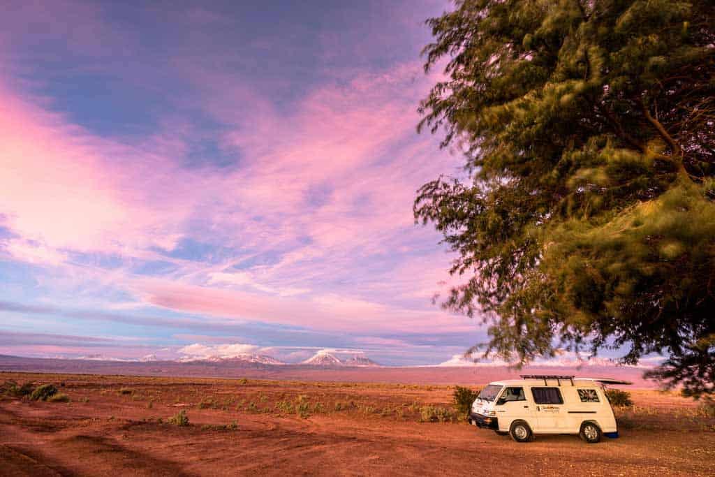 Campervan Atacama Desert