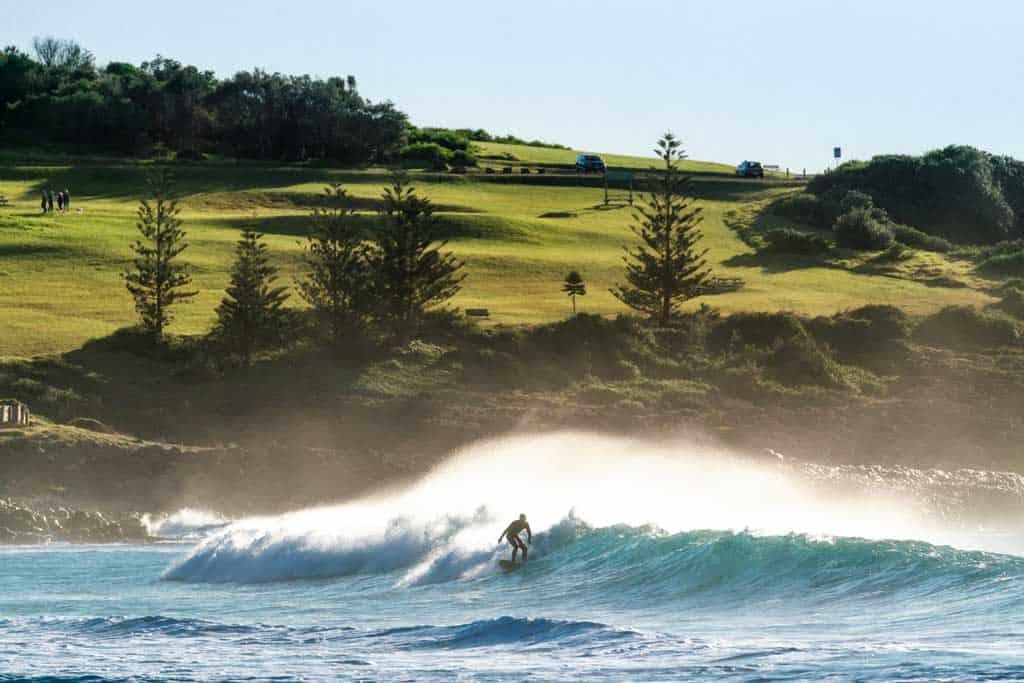 Jones Beach Surfer