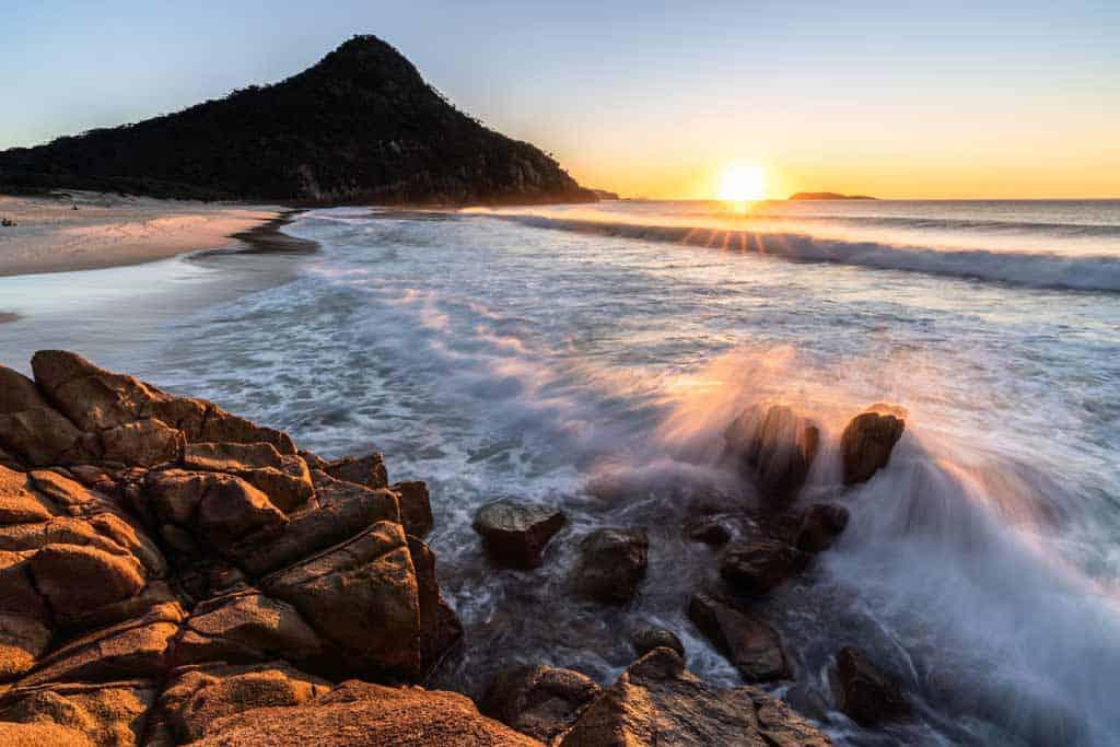 Zenith Beach Port Stephens Itinerary