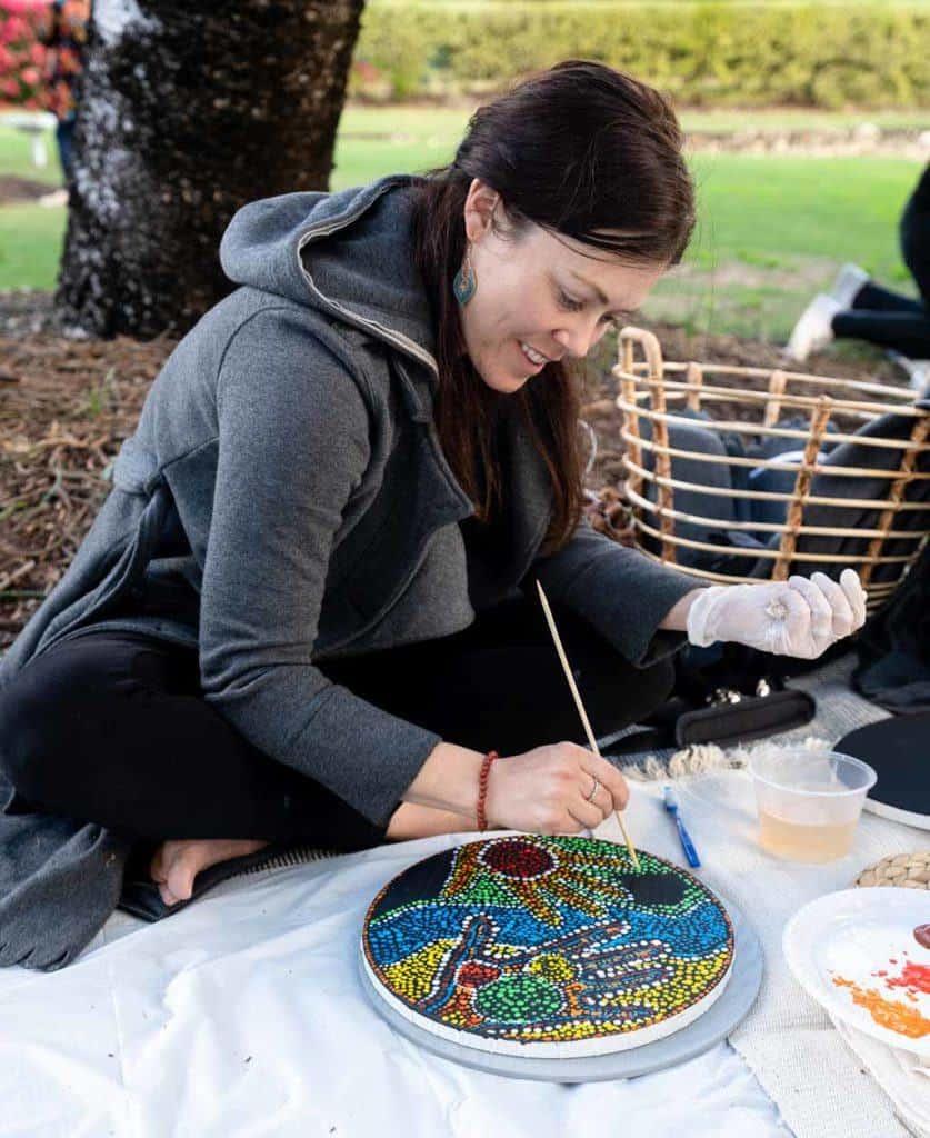Alesha Painting Sip n Dip Ipswich
