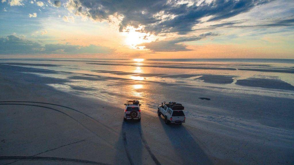 Sunset On Eighty Mile Beach