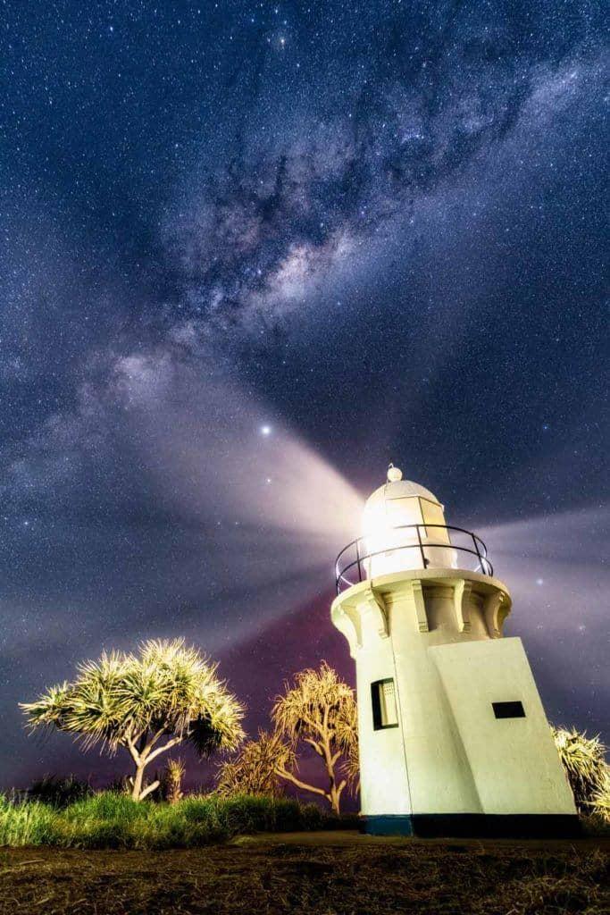 Fingal Head Lighthouse Milky Way