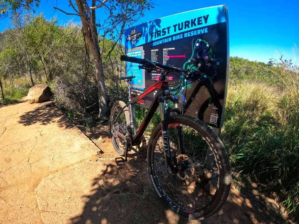 First Turkey Mountain Bike Trails