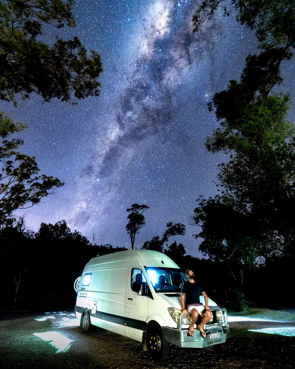 Marlee Campervan Milky Way