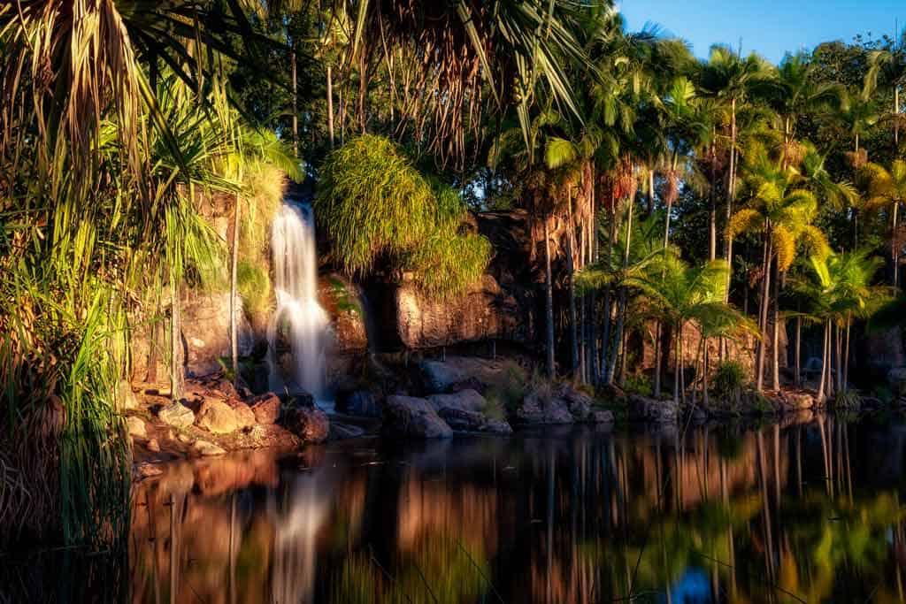 Kershaw Gardens Waterfall
