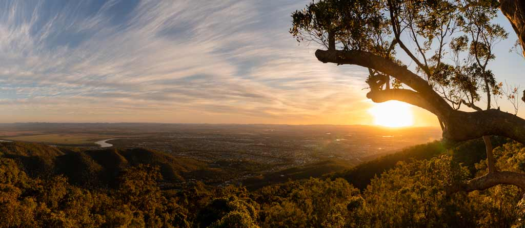 Mount Archer Sunset