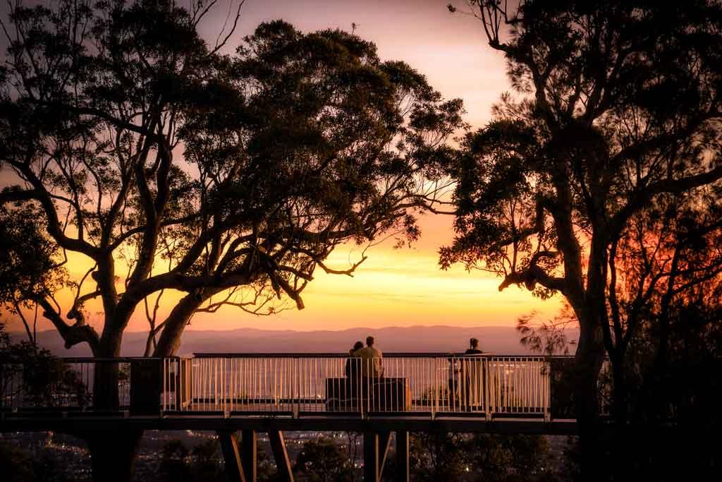 Mount Archer Sunset Rockhampton Itinerary