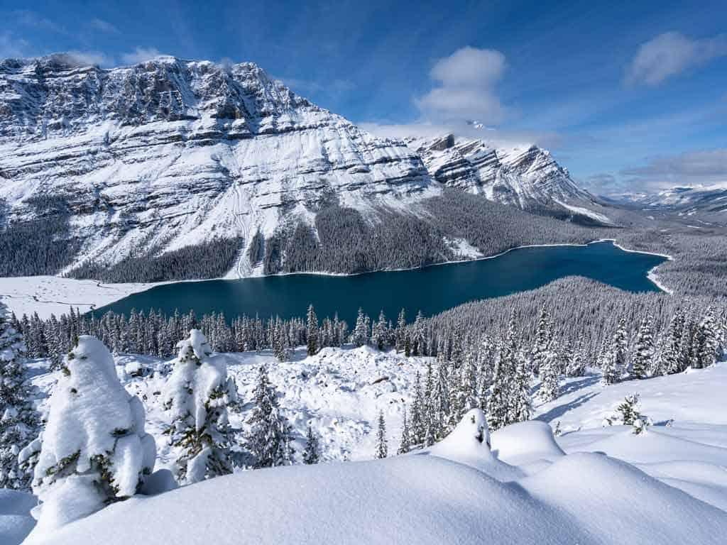 Peyto Lake Banff Itinerary