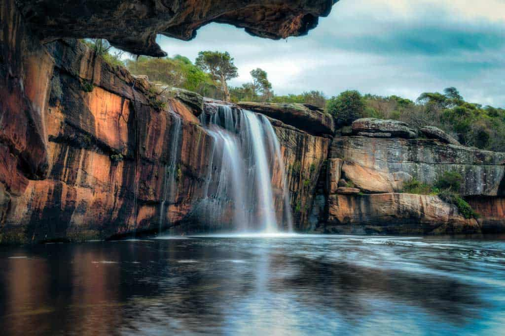 Wattamolla Falls Royal National Park