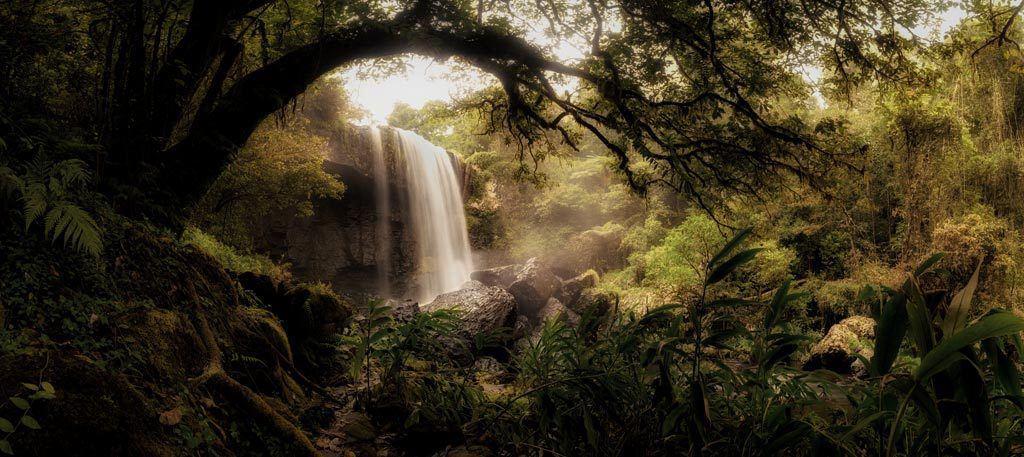 Zillie Falls Panorama