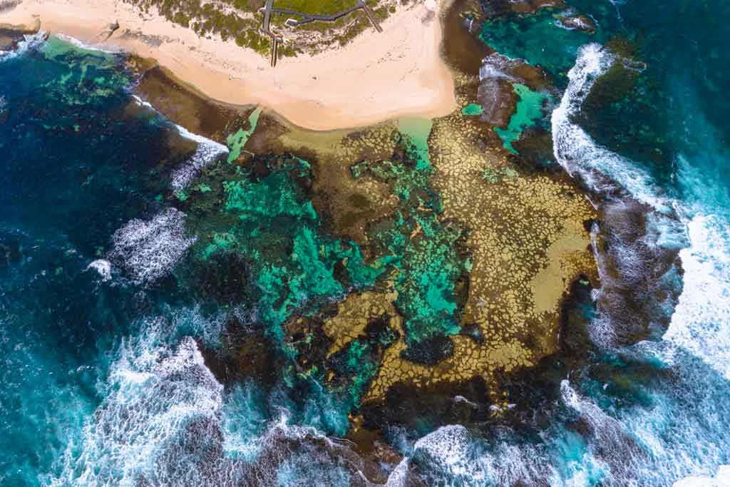 Things To Do In Margaret River Drone Shot
