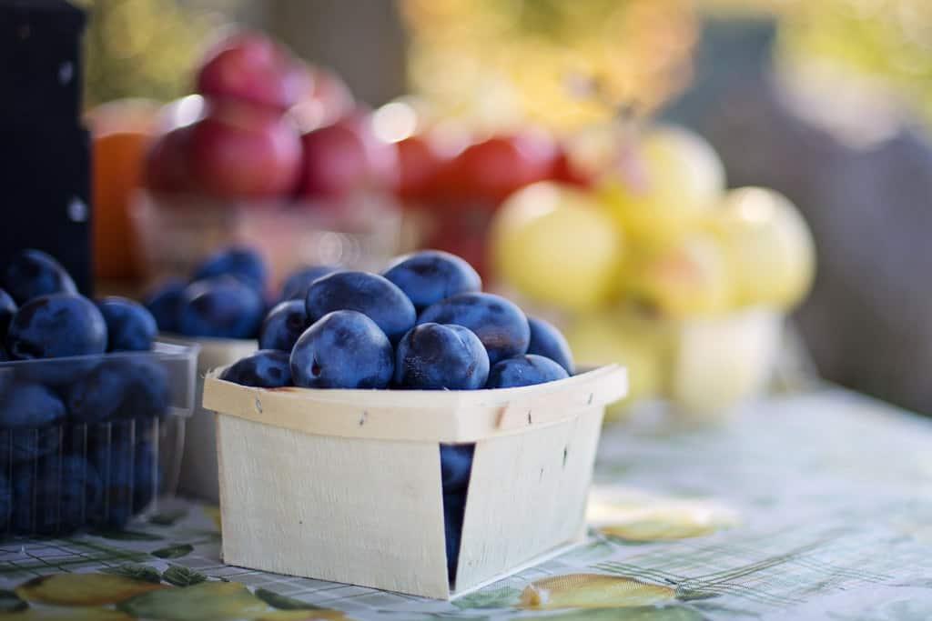 Fruits At Farmer's Market