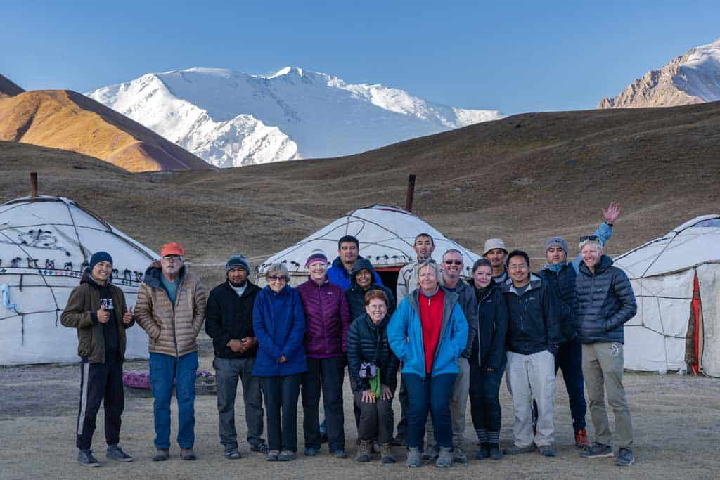 Tour Group Pamir Highway