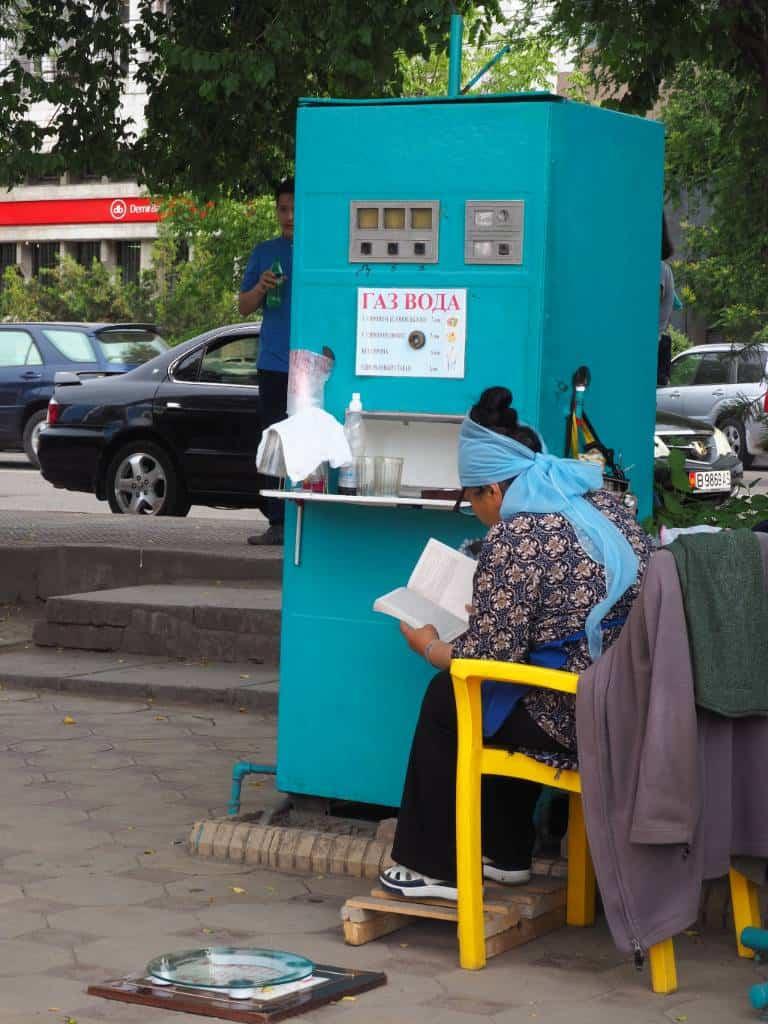 Soviet Water Dispenser In Bishkek