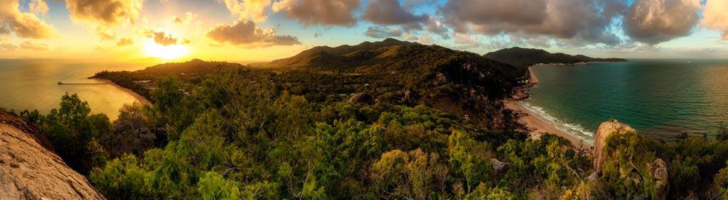 Magnetic Island Panorama Sunset