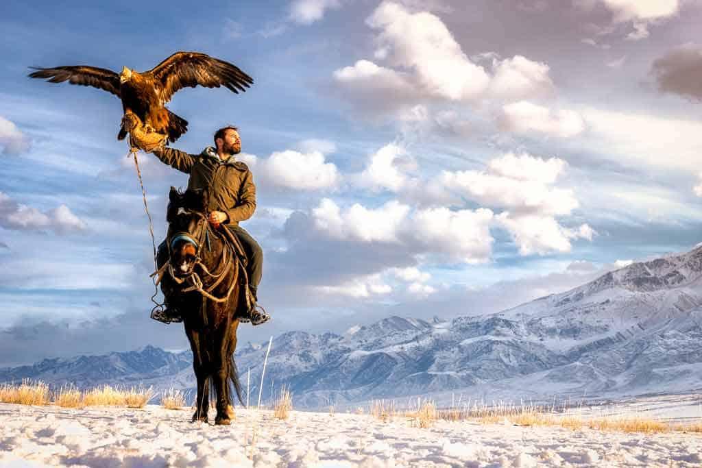 Jarryd Eagle Hunter Kyrgyzstan