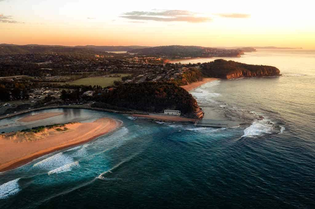 Northern Beaches Drone Photo