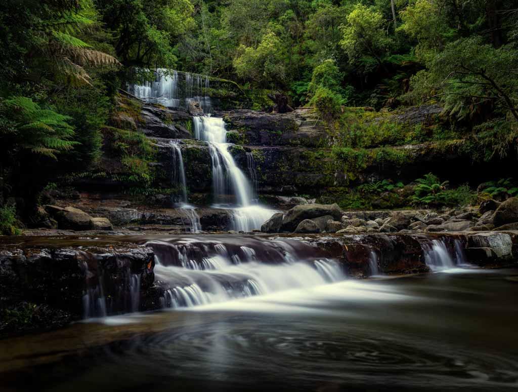 Liffey Falls Wide Angle