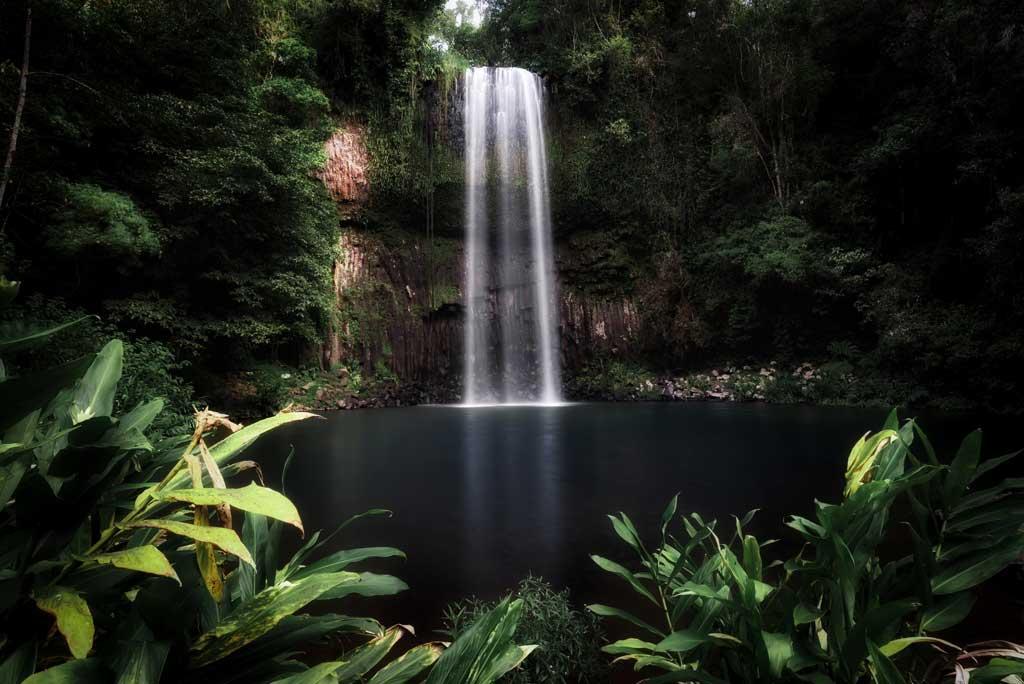 Waterfall Photography Tips Millaa Millaa Falls