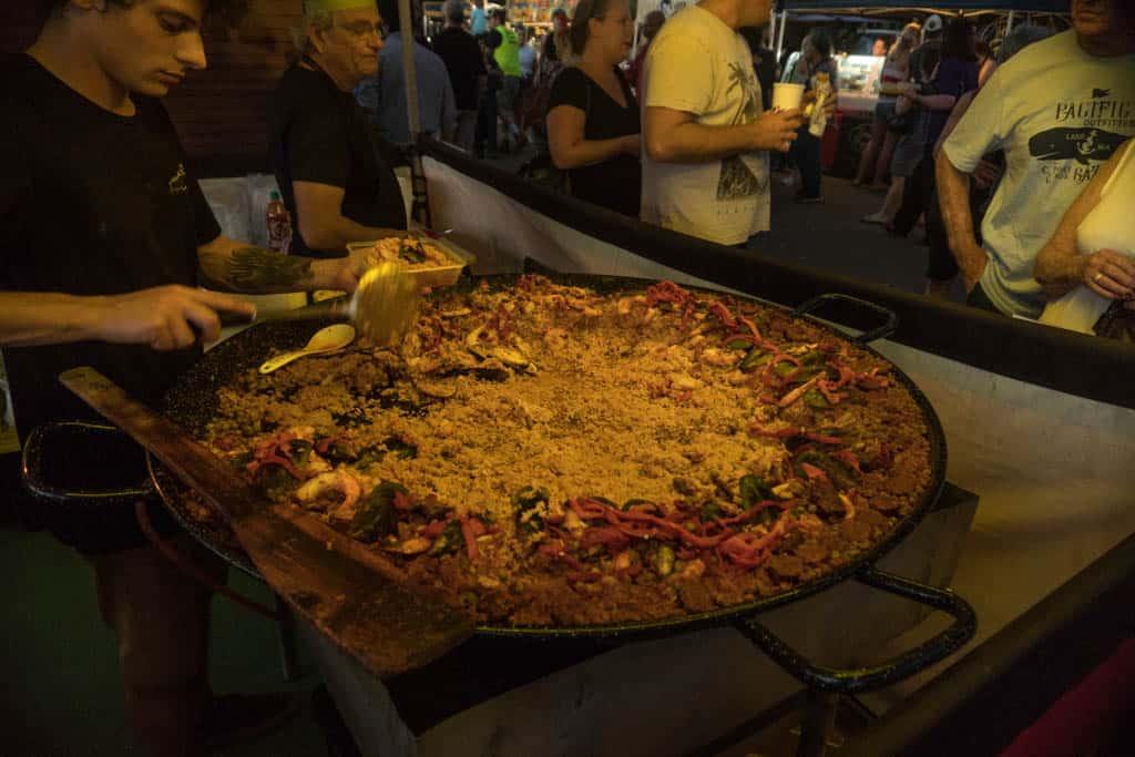 Paella In Mindil Beach Sunset Market