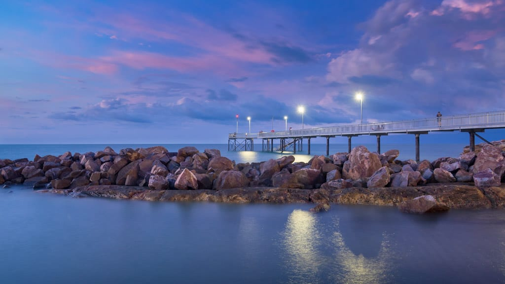 Sunset Stoke Hill Wharf