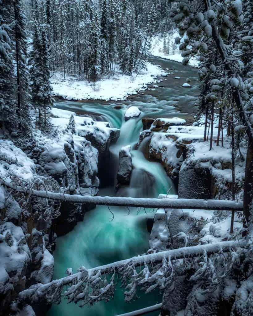 Sunwapto Falls Canada
