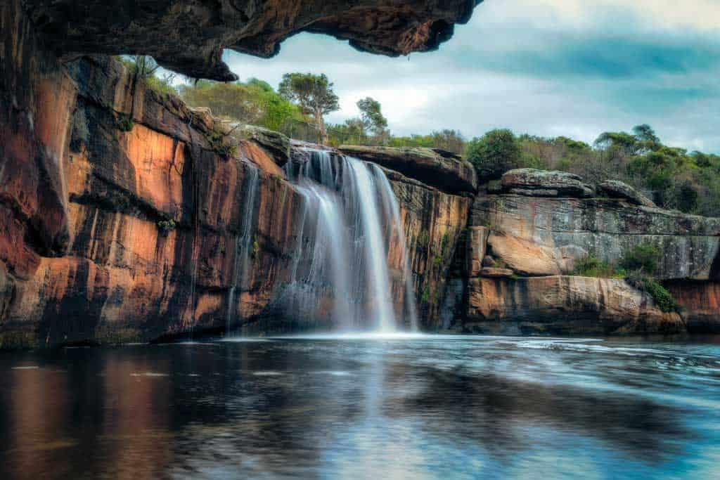 Wattamolla Falls Tripod Use