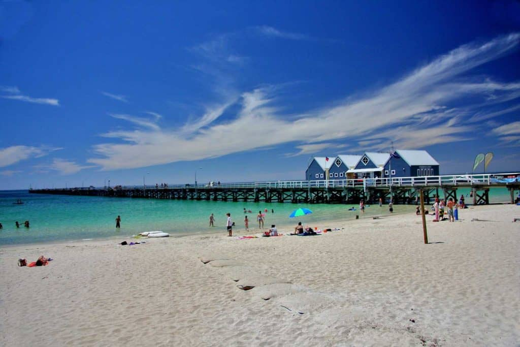 Beach Busselton Western Australia