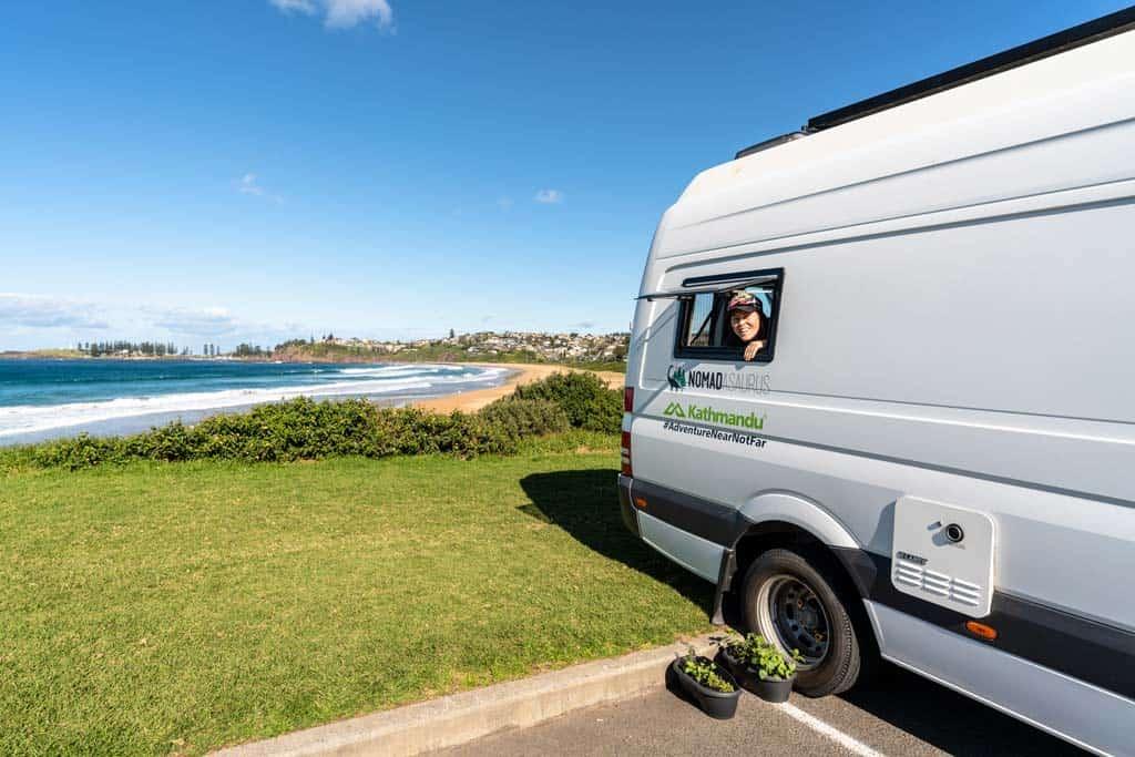 Bombo Beach With Van