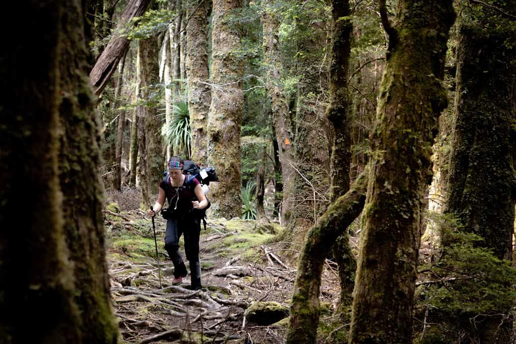 Du Cane Gap Alesha Hiking