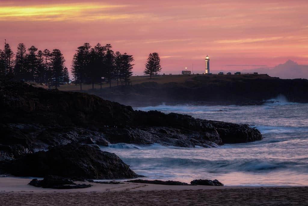 Sunrise Kiama Beaches