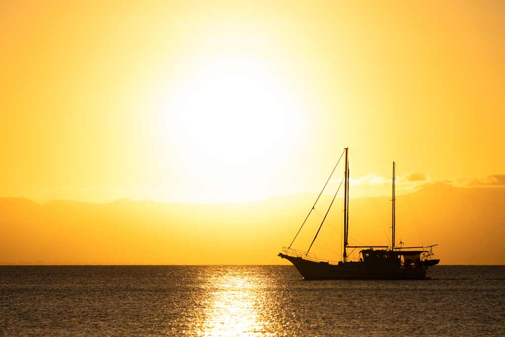 Sailboat On Magnetic Island
