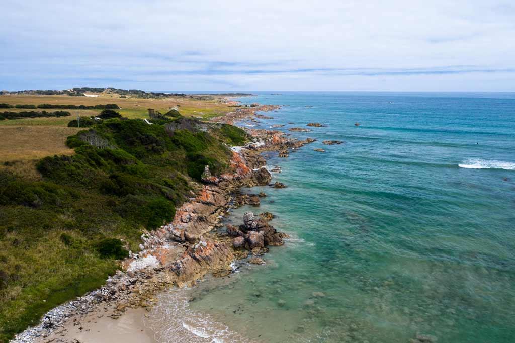 Rocky Coastline Northwest Tasmania
