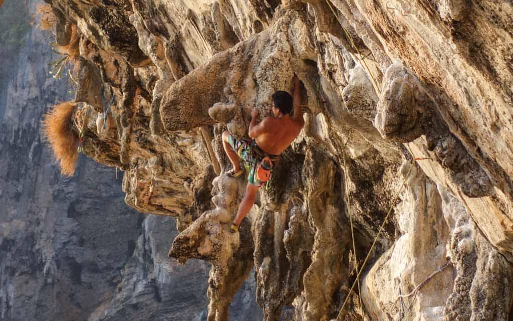 Rock Climbing Tonsai