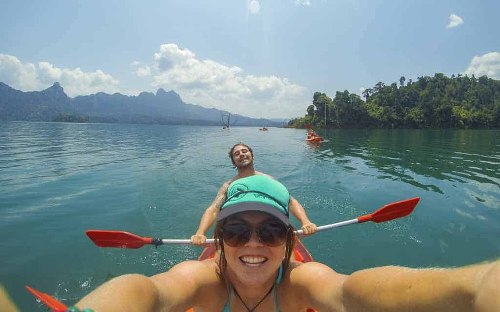Thailand For Couples Kayaking