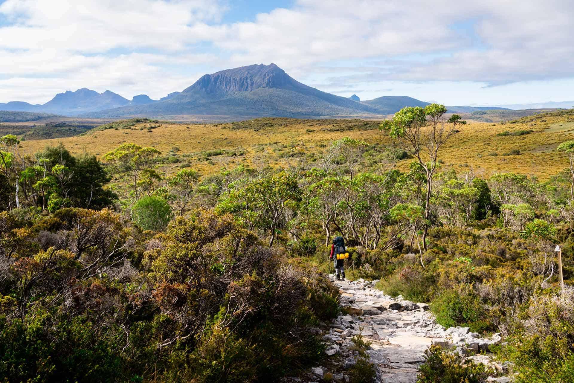 Hiking Overland Track Tasmania