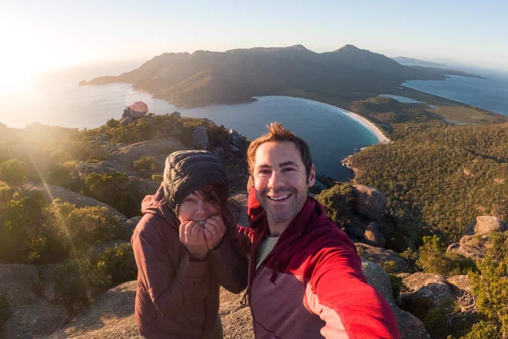 Nosotros en Mount Amos Sunrise