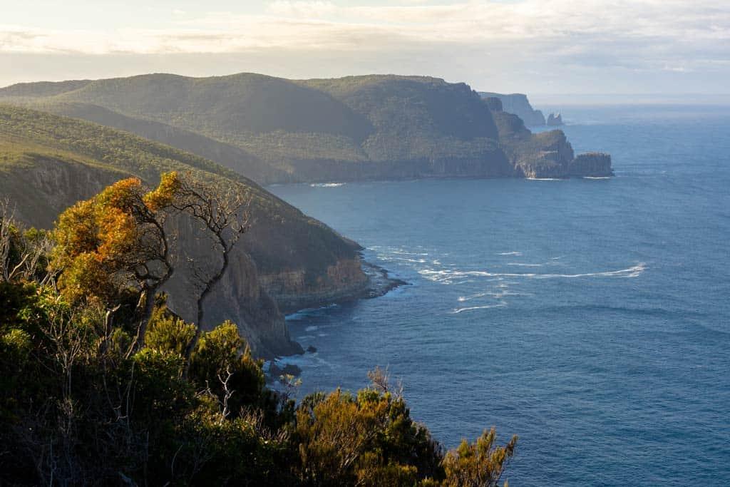 Coastline Of Tasman Peninsula