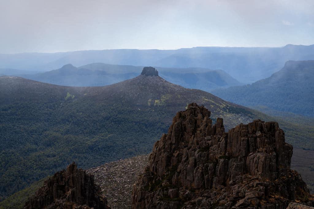 Mt Ossa Near Top
