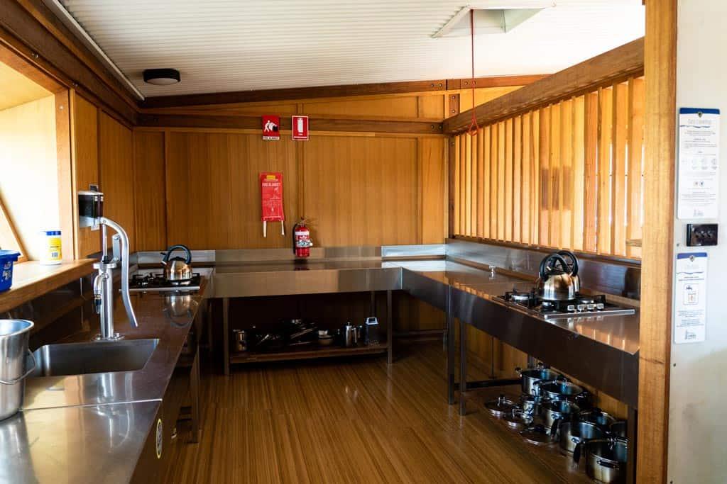 Hut Kitchens On Three Capes Track